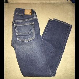 American eagle outfitters straight jeans